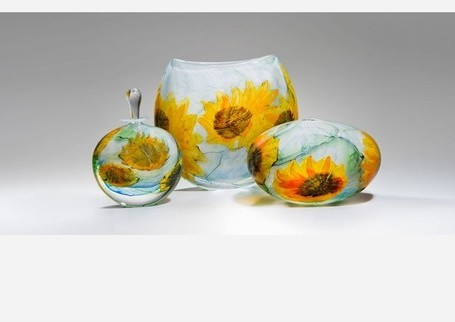 Glass gets arty at London Glassblowing